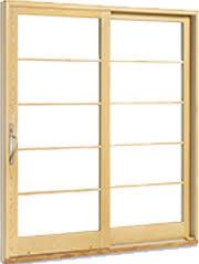 Wooden Sliding Patio Doors Sliding Glass Exterior Doors Marvin Family Of Brands