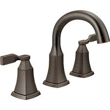 bronze widespread bathroom faucet shop delta sawyer venetian bronze 2 handle widespread bathroom