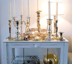 Christmas Decorations In White And Silver by Christmas Mantel Decorations In Red White Silver And Gold