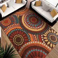 orian rugs geo pinwheel area rug or runner walmart com