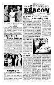 the babylon beacon babylon n y 1966 1972 september 19 1968