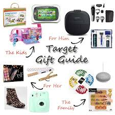 target gift guide for the entire family