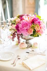 Paris Centerpieces Elegant Pink And Green Wedding Centerpiece Elizabeth Anne