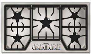 Thermador Cooktop With Griddle Amazon Com Thermador Sgs365fs 36 Gas Cooktop With 5 Star