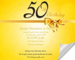 50th birthday invite wording cloveranddot com