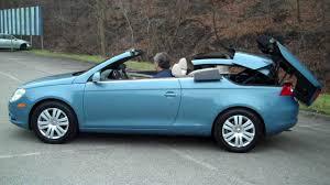 blue volkswagen convertible 2008 volkswagen eos specs and photos strongauto