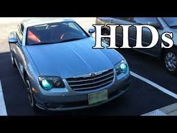 hid xenon h7 headlight kit installation chrysler crossfire