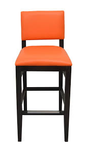 bar stools restaurant front view custom upholstered bar stools modern line furniture