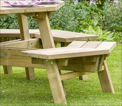 Folding Picnic Table Bench Plans Free by Exteriors Walk In Octagon Picnic Table Plans Free Pressure