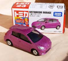 tomica mitsubishi outlander tomica no 23 mitsubishi mirage new model for june when t u2026 flickr