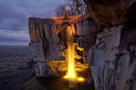 Rock City Gardens Chattanooga Rock City S Enchanted Garden Of Lights