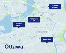 Ottawa Canada Map by Get Ready For Canada 150 Uber Blog