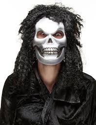 Skull Mask Halloween Rockstar Skull Mask For Adults Vegaoo