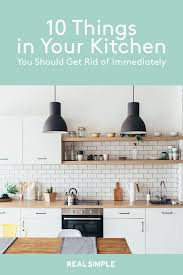 how to get rid of new kitchen cabinet smell 10 things in your kitchen you should get rid of immediately