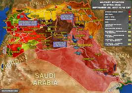 Syria Live Map by Military Situation In Syria And Iraq As Isis Crumbles Under