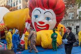macy s thanksgiving parade balloon inflation various locations