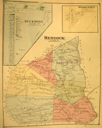 Paper Town Map Columbia County Warrantee Maps In Harrisburg