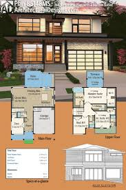one story house plans with two master suites 194 best modern house plans images on pinterest modern house