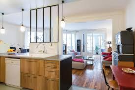 cuisine ouverte sur salon surface chambre cuisine ouverte sur salon decoration cuisine