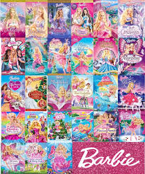list single barbie movie order