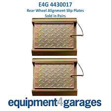 slip plates rear wheel alignment garage lifts