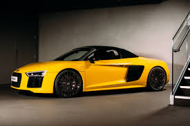 all new 197mph audi r8 spyder raises the roof at audi city london