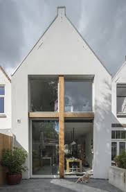 a modern extension on a row house from 1900 design milk