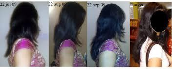 using gelatin for your hairstyles for women over 50 2 months progress hail biotin gelatin pic