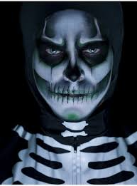 maquillage gothique homme kit de maquillage de squelette qui brille dans l u0027obscurité pour