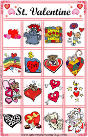 valentines bingo st bingo uncommon courtesy