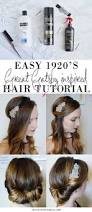 hairstyles easy to do for medium length hair easy 1920 u0027s great gatsby hair tutorial gatsby hair gatsby and