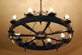 Gothic Chandelier Wrought Iron Taking The Best Decision Of Wrought Iron Chandeliers Preferences