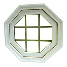 shop awsco octagon replacement window rough opening 24 5 in x