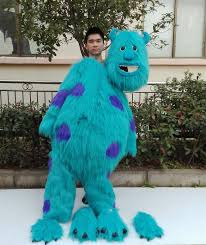 Monsters University Halloween Costume How To Put On Monsters University Character James P Sullivan