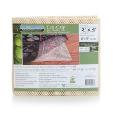 eco grip rug pad non slip w cushion bond products inc