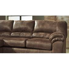 Faux Leather Sectional Sofa Furnituremaxx Bladen Contemporary Coffee Color Faux Leather