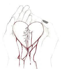 drawn broken heart angel pencil cms templates blogger templates