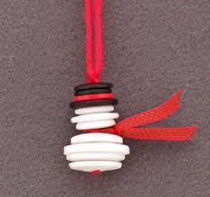 25 beautiful handmade ornaments handmade ornaments snowman and