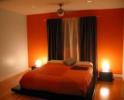 nice orange bedroom 46 within home interior design ideas with