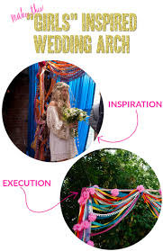 wedding arches how to make make this inspired wedding arch a practical wedding a