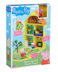 Peppa Pig Sofa by Peppa Pig House And Garden Playset Debenhams