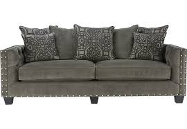 Large Armchair Loveseat Gray Sofas U0026 Couches Fabric Microfiber U0026 More