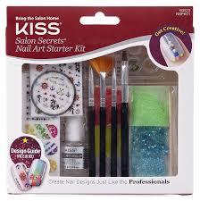 amazon com kiss products salon secrets starter kit 0 35 pound