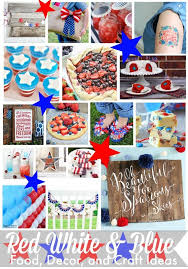 4th Of July Party Decorations 4th Of July Party Decorations 365 Days Of Crafts Diy Art And