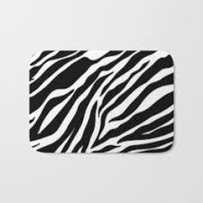 Zebra Bath Rug Zebra Bath Mats Society6