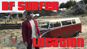 volkswagen hippie van name clean vw bus location in gta v online bf surfer youtube