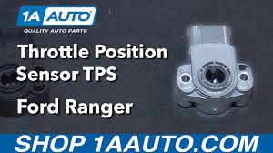 Ford Ranger Truck Parts - how to install replace throttle position sensor tps 2001 ford