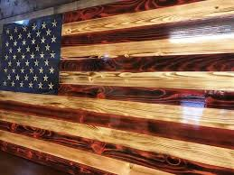 wooden american flag wall best 25 wooden american flag ideas on pallet flag