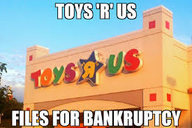 Meme Toys - toys r us files for bankruptcy memenews