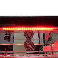 fridge red light led light multi colored commercial glass door bar fridge with remote